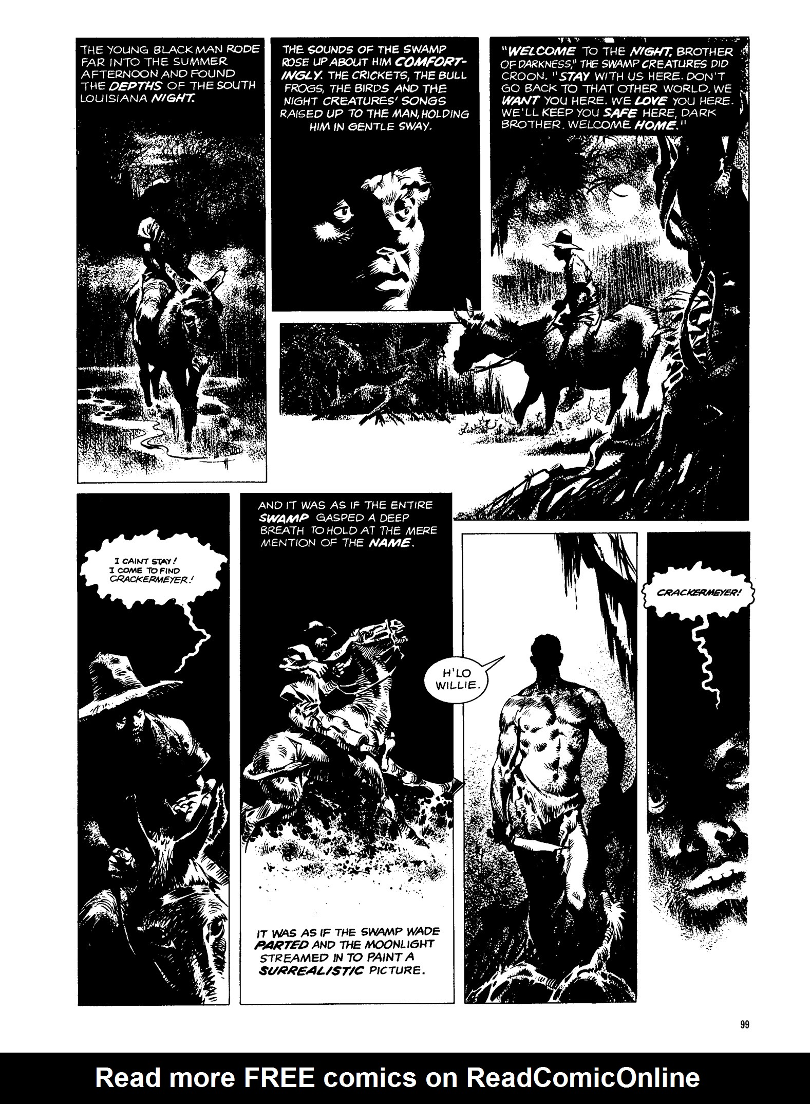 Read online Eerie Archives comic -  Issue # TPB 13 - 100