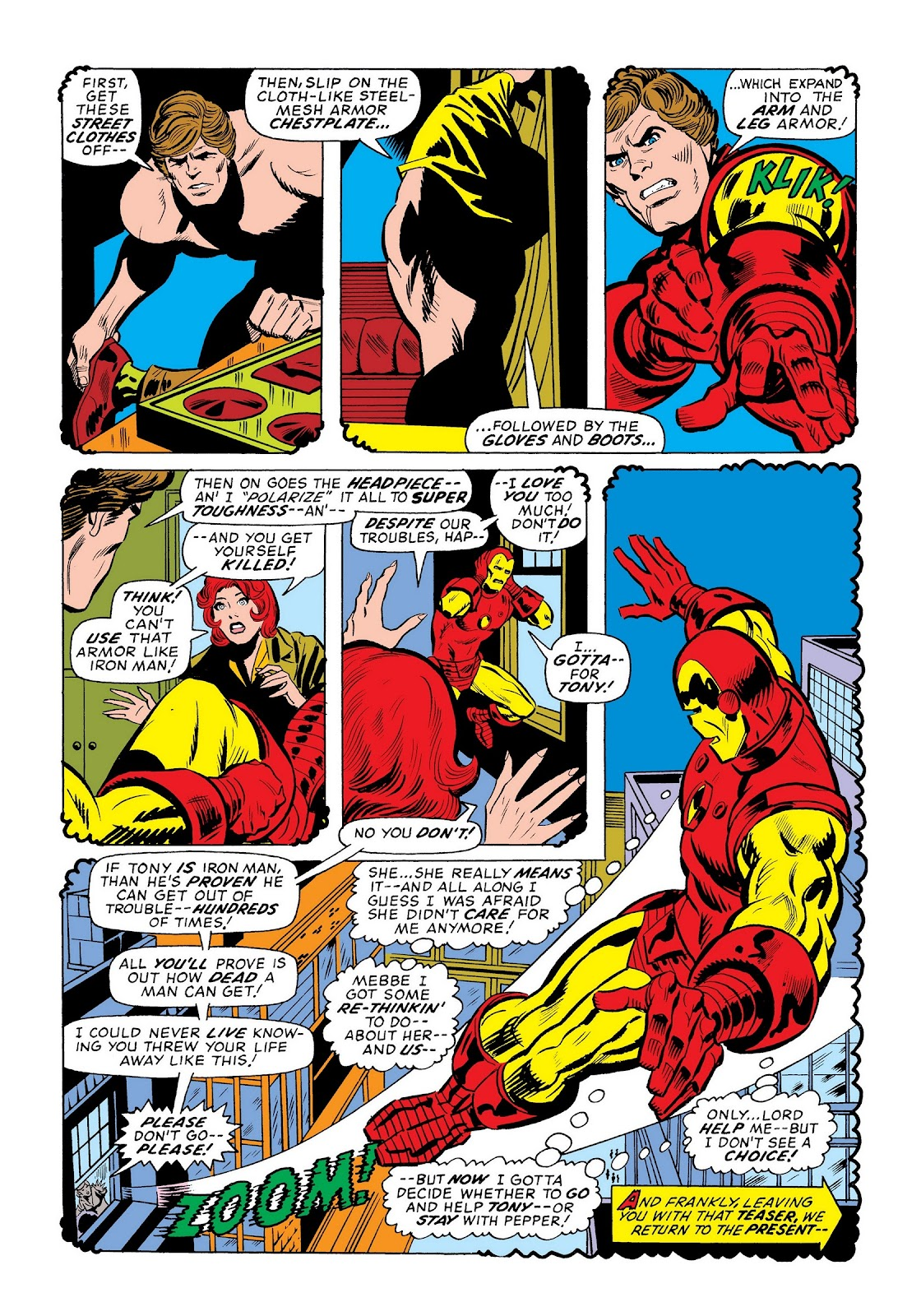 Read online Marvel Masterworks: The Invincible Iron Man comic -  Issue # TPB 9 (Part 3) - 60
