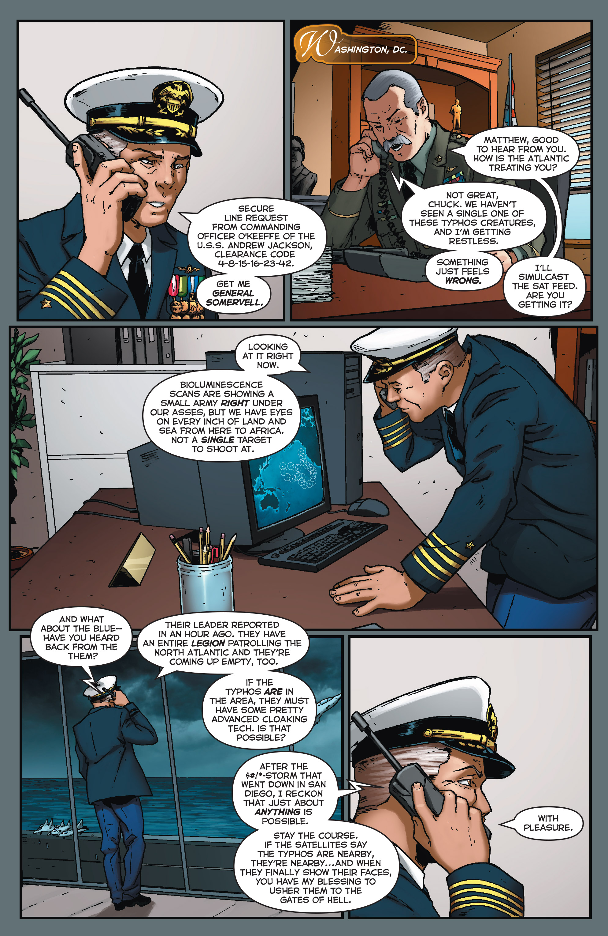 Read online Fathom (2017) comic -  Issue #5 - 11