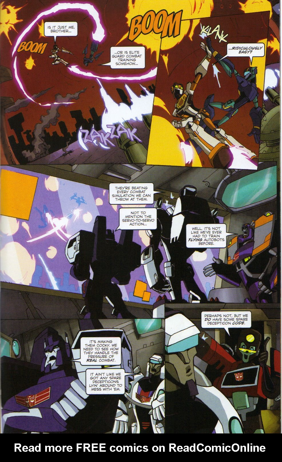 Read online Transformers Animated: The Arrival comic -  Issue #6 - 17