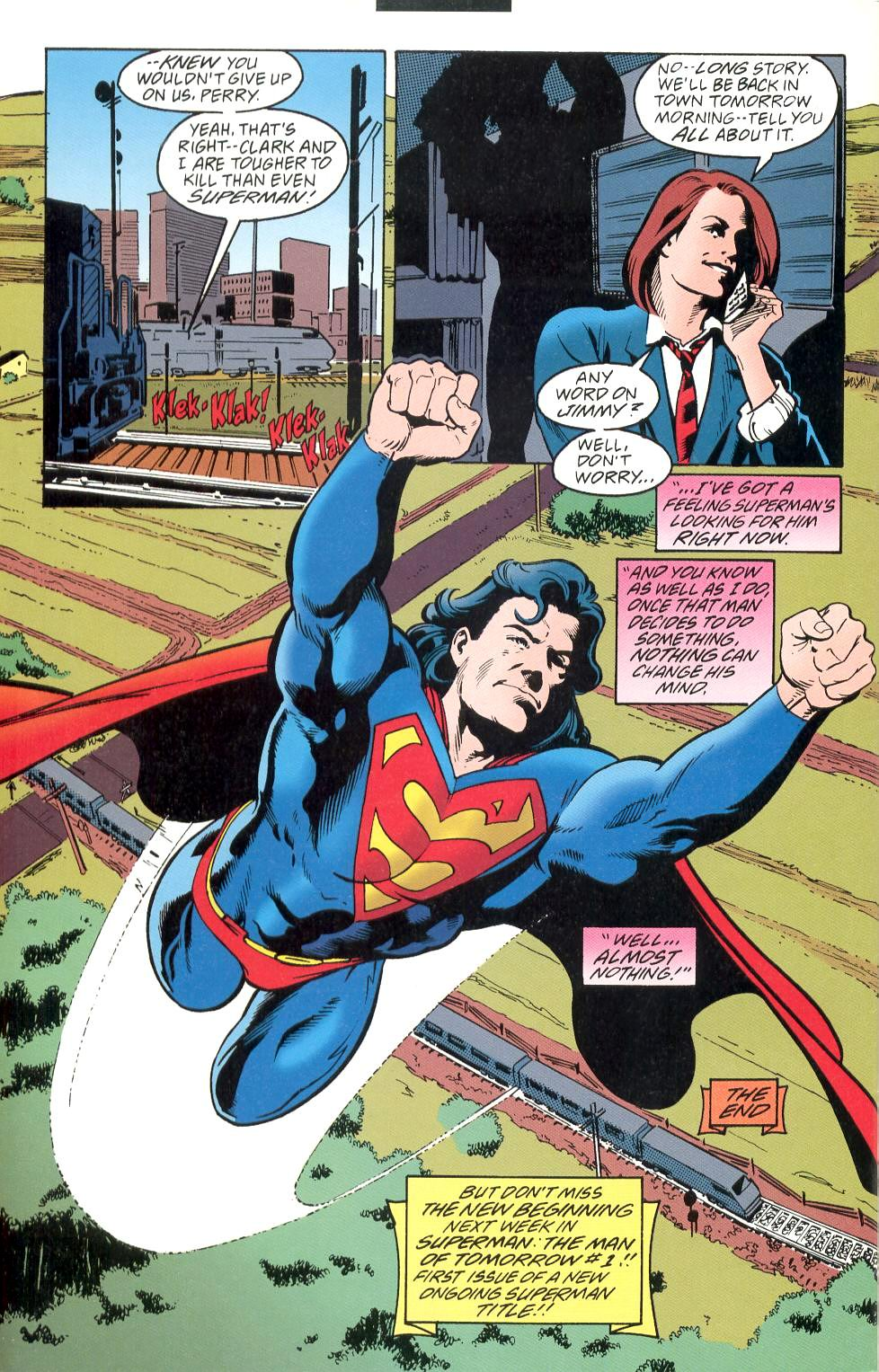 Read online Adventures of Superman (1987) comic -  Issue #525 - 23