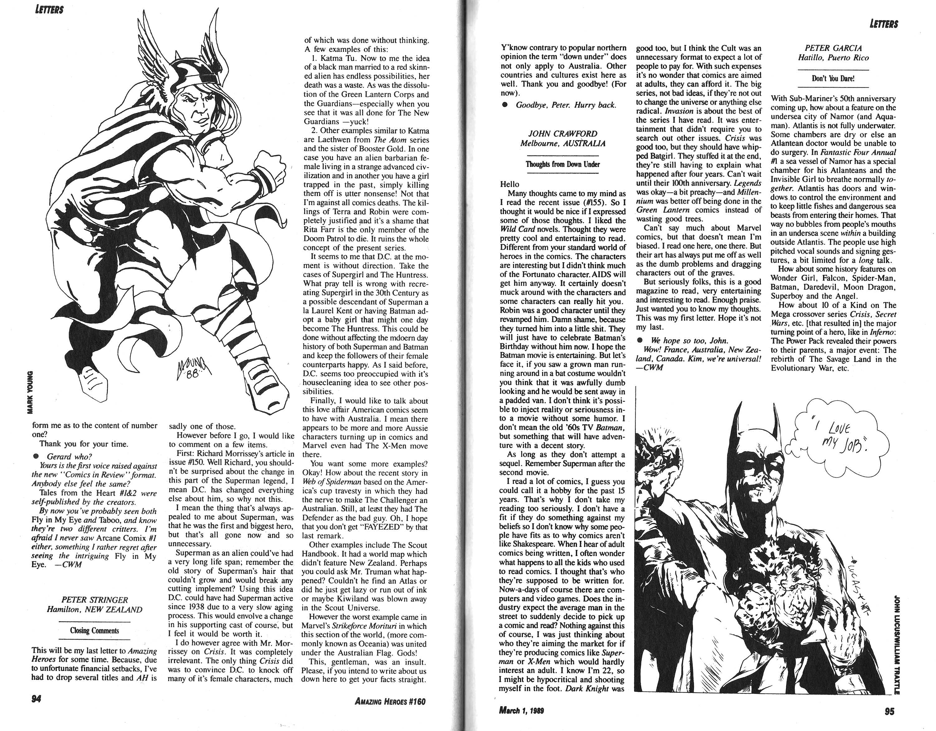 Read online Amazing Heroes comic -  Issue #160 - 48