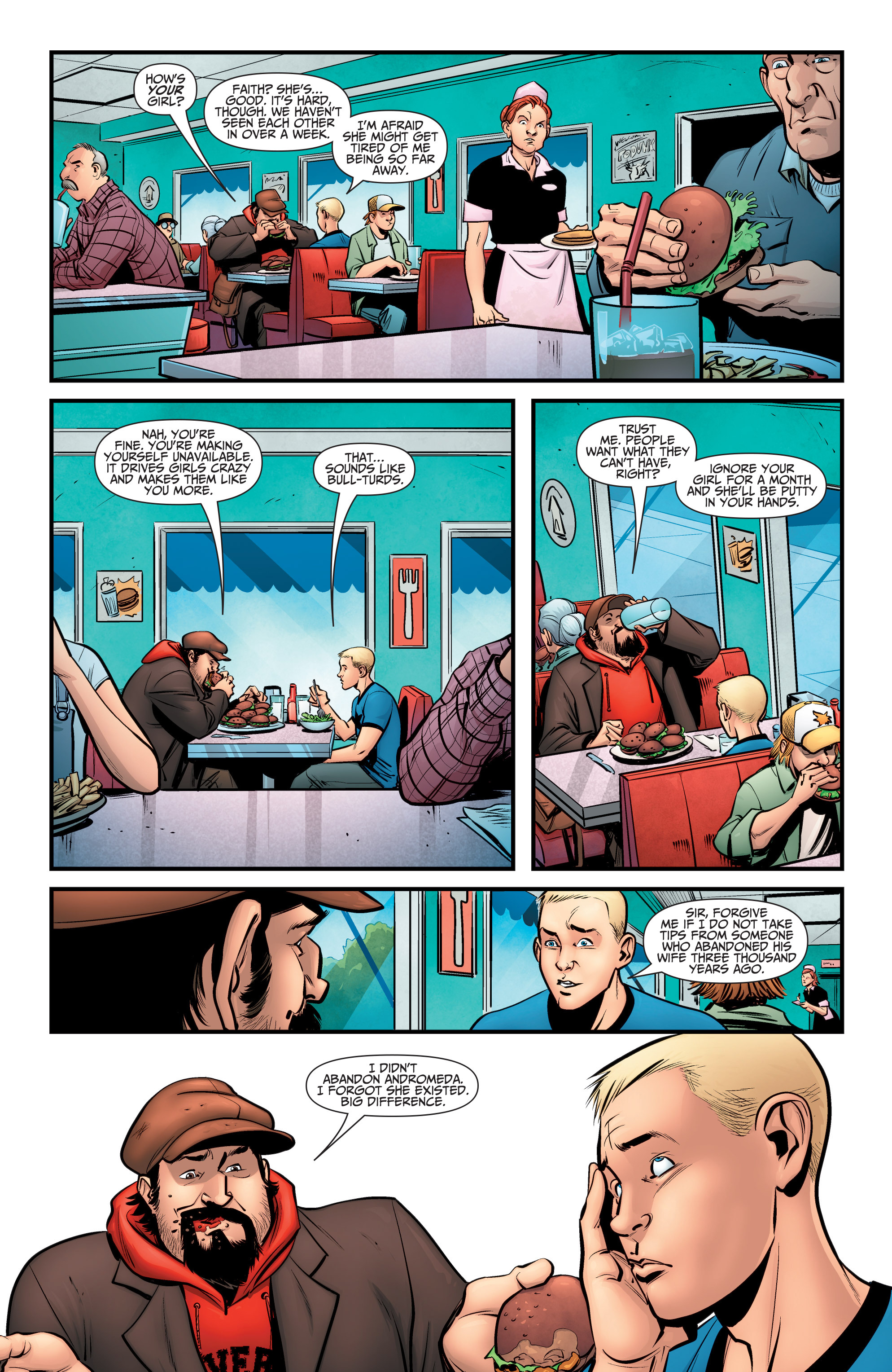 Read online A&A: The Adventures of Archer & Armstrong comic -  Issue #6 - 8