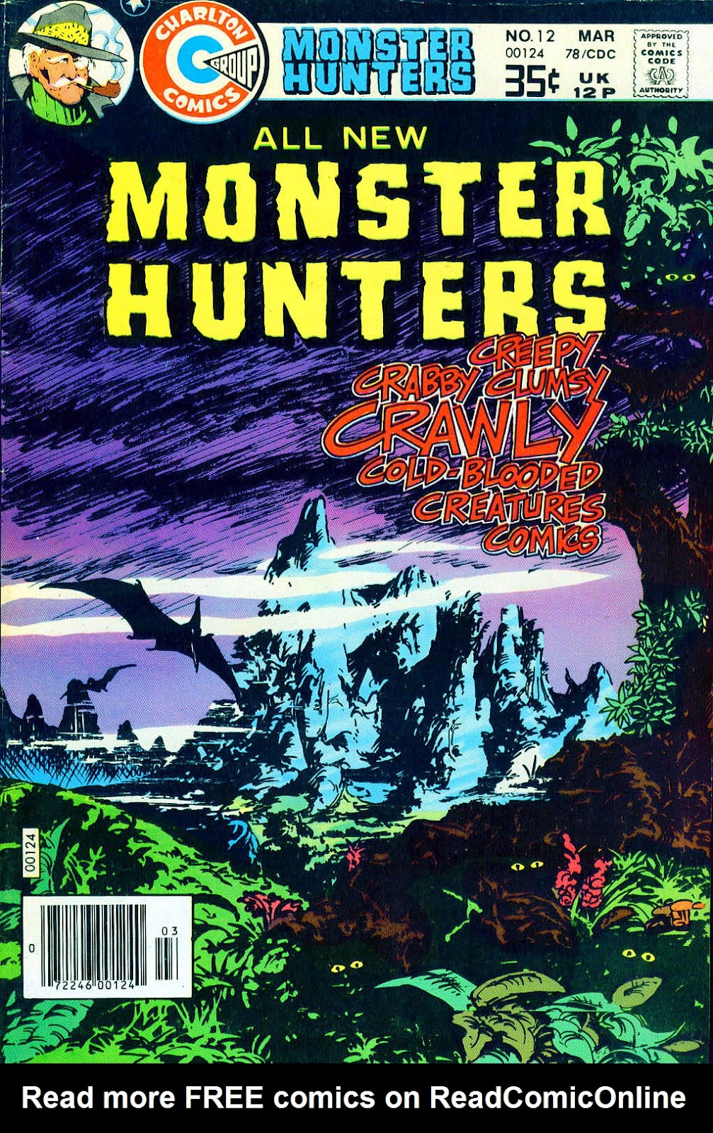 Monster Hunters issue 12 - Page 1
