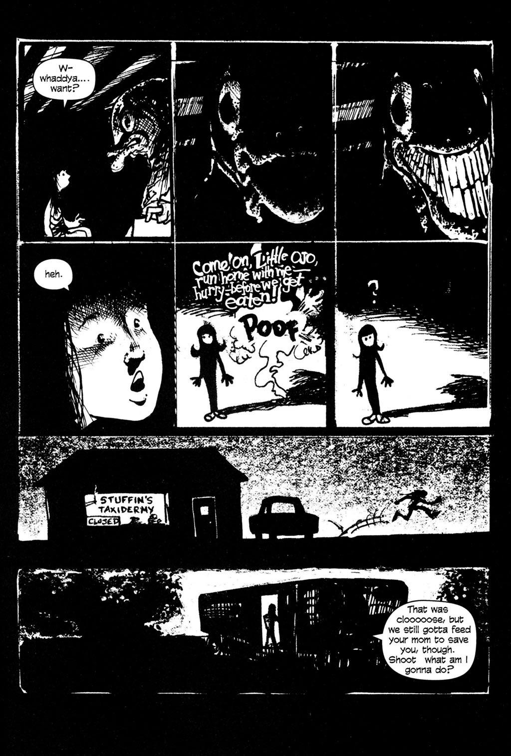 Read online Ojo comic -  Issue #4 - 20