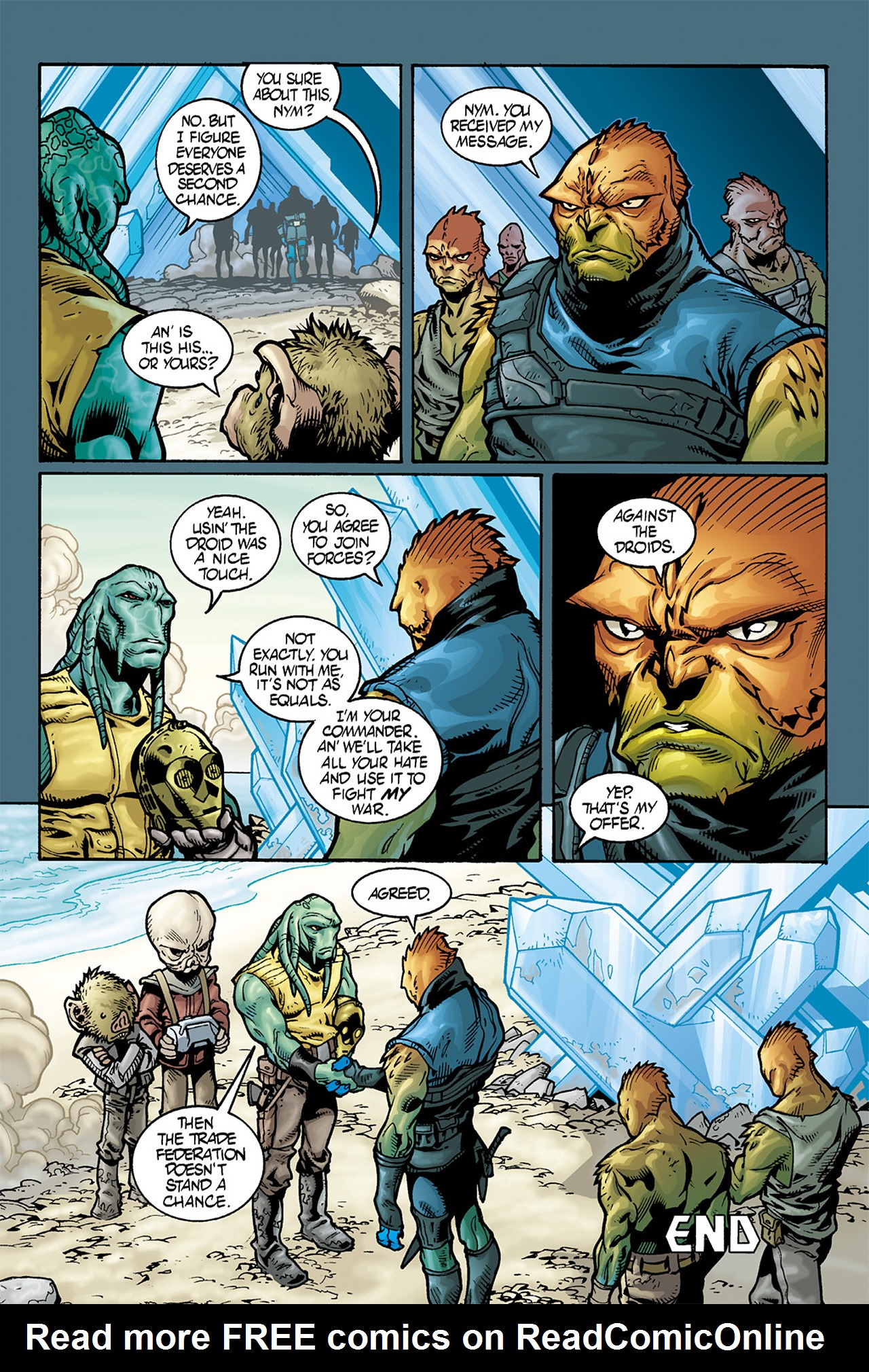 Read online Star Wars Omnibus comic -  Issue # Vol. 10 - 423