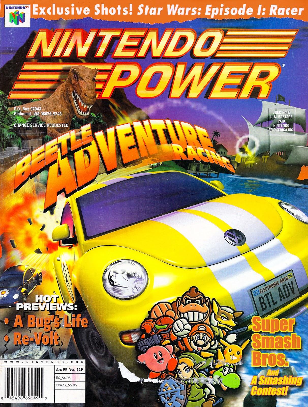 Nintendo Power 119 Page 1