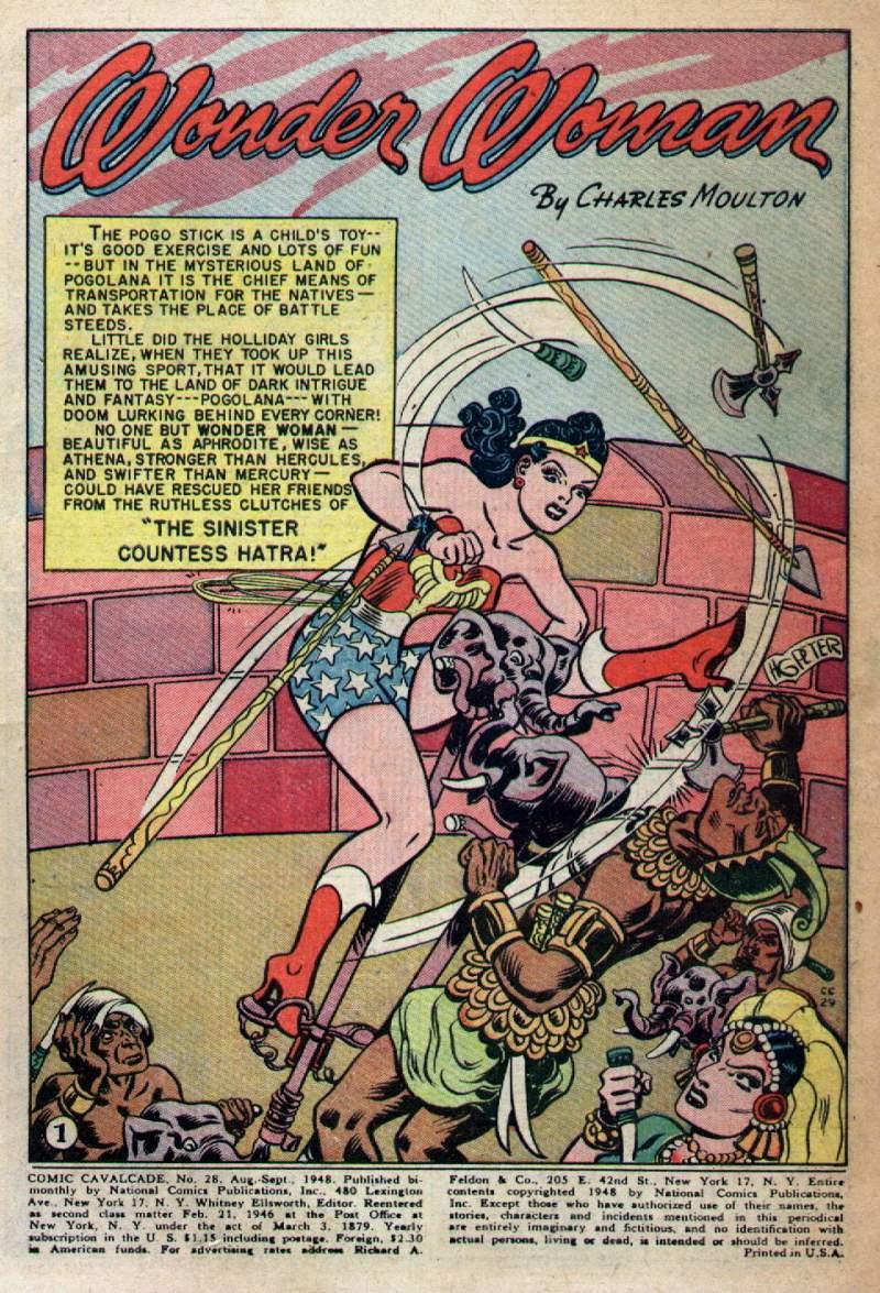 Comic Cavalcade issue 28 - Page 3