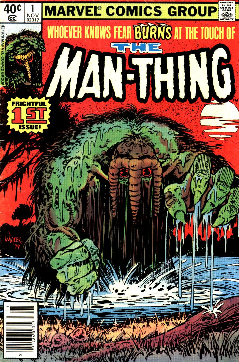 Man-Thing (1979) issue 1 - Page 1