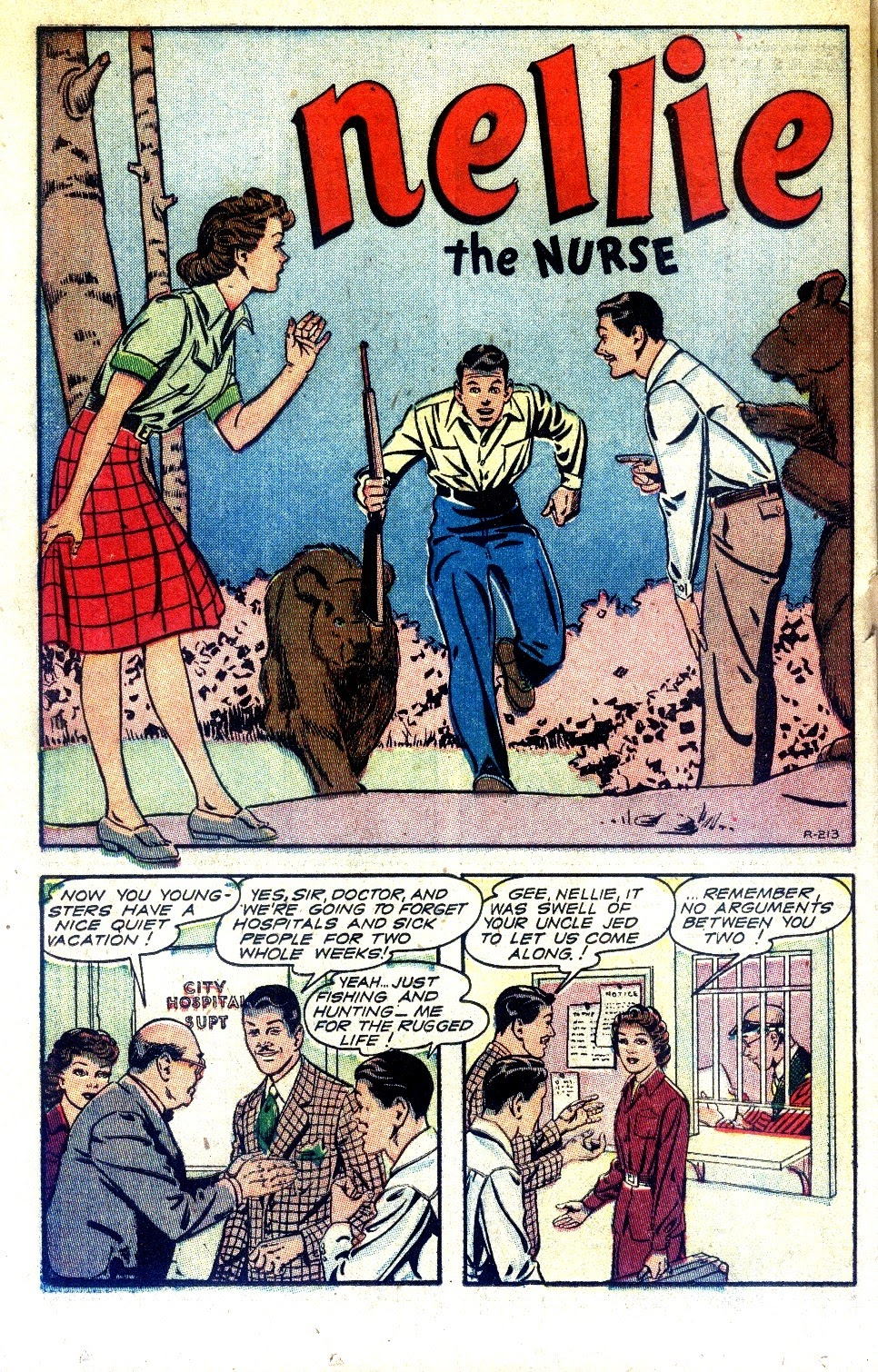 Read online Nellie The Nurse (1945) comic -  Issue #2 - 34