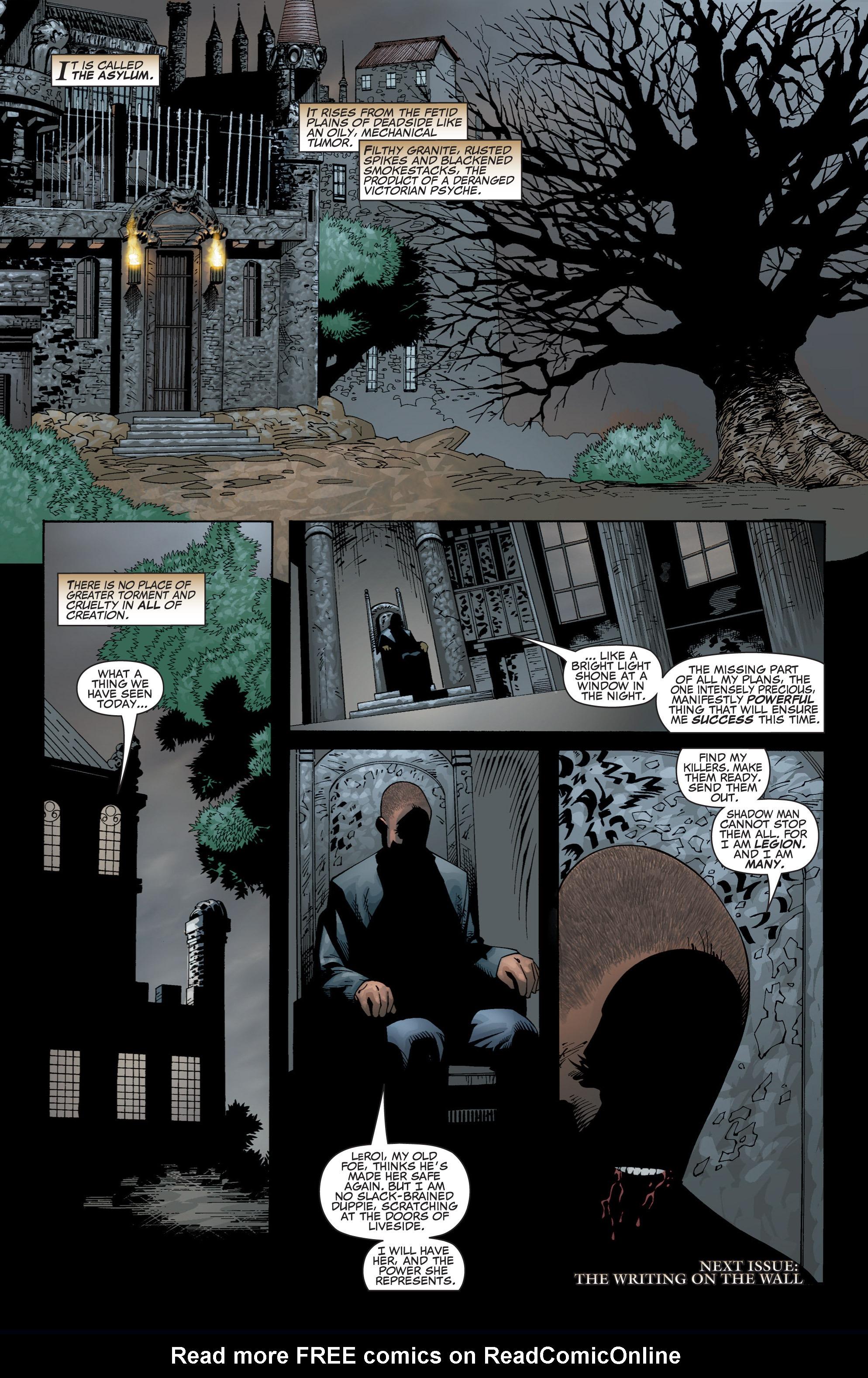 Read online Shadowman (1999) comic -  Issue #1 - 41
