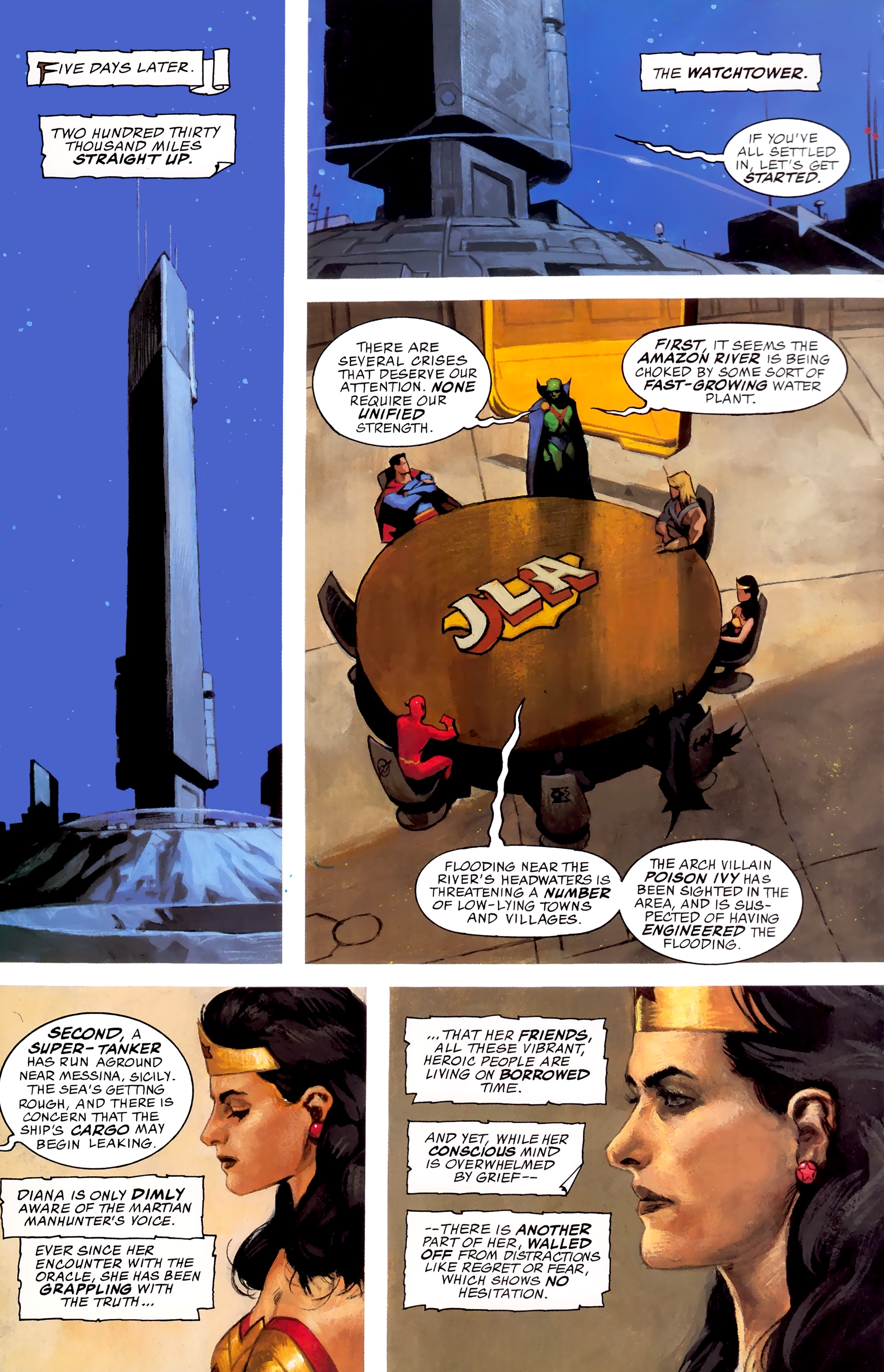Read online JLA: A League of One comic -  Issue # Full - 31
