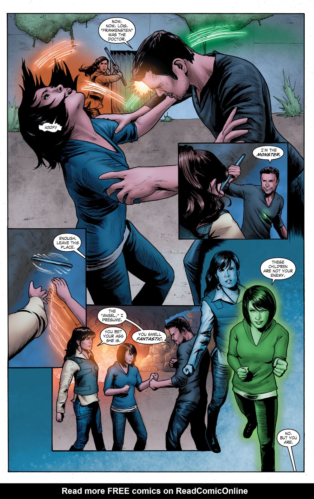 Read online Smallville Season 11 [II] comic -  Issue # TPB 4 - 128