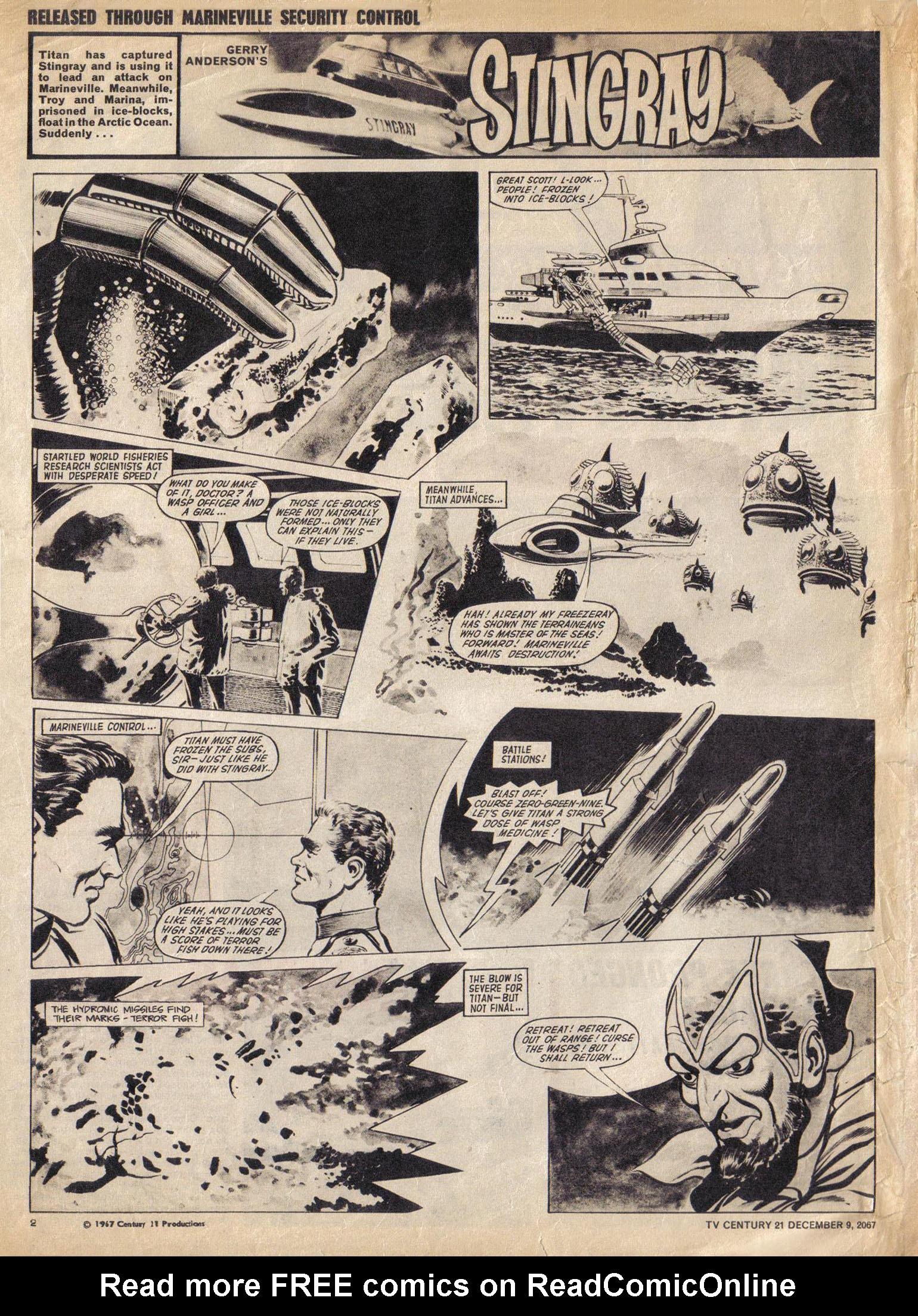 Read online TV Century 21 (TV 21) comic -  Issue #151 - 3