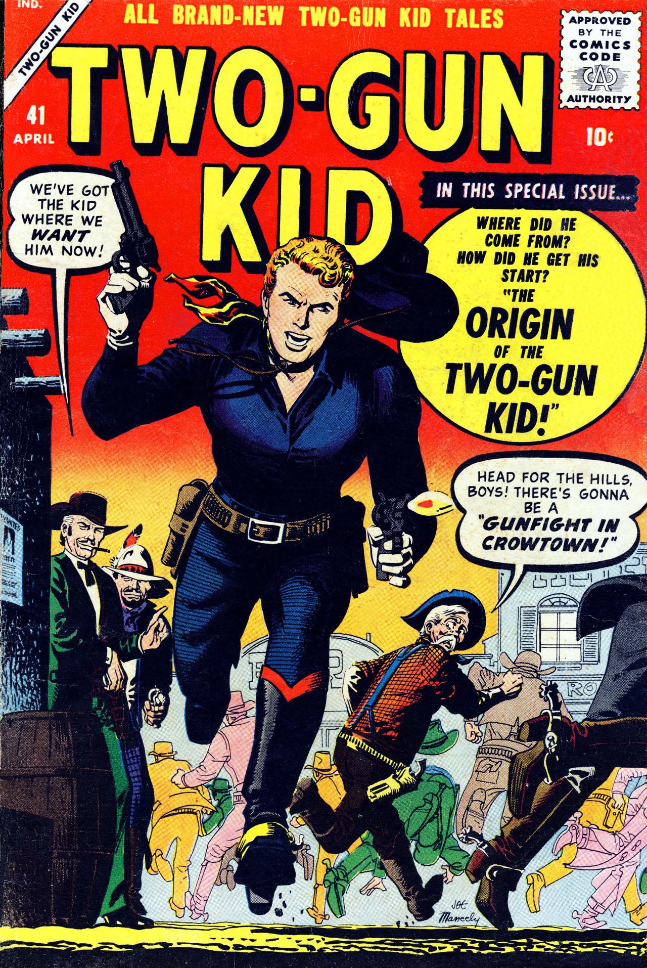 Read online Two-Gun Kid comic -  Issue #41 - 1