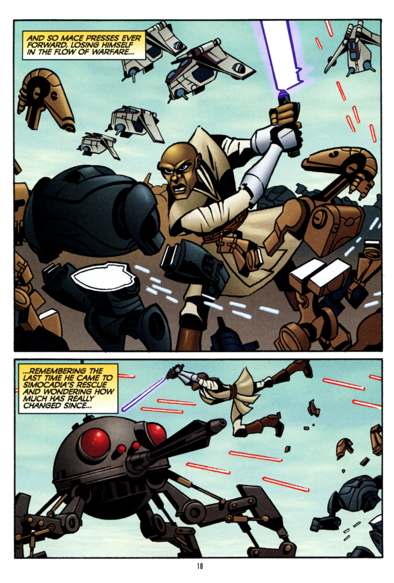 Read online Star Wars: The Clone Wars - The Colossus of Destiny comic -  Issue # Full - 19