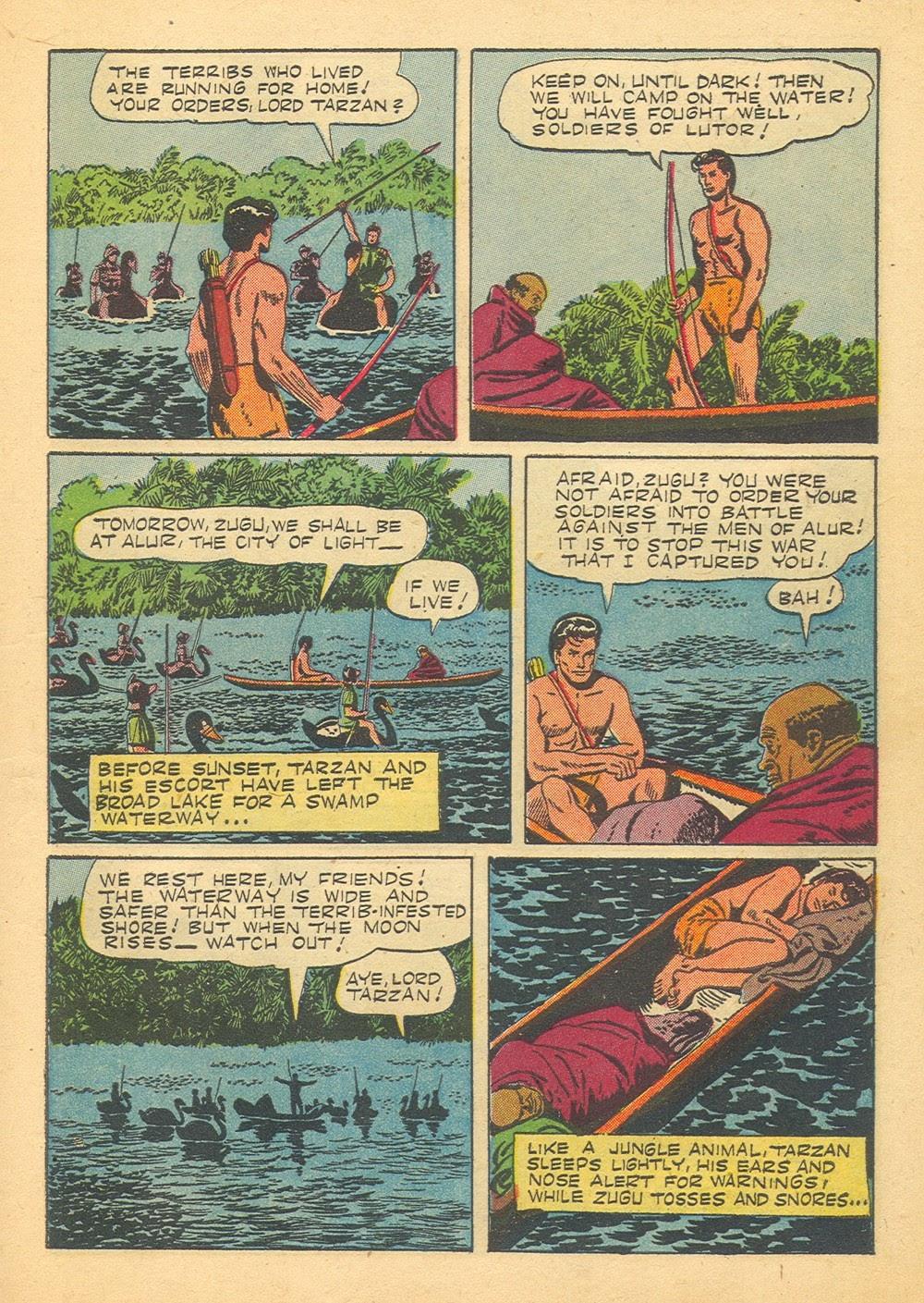 Tarzan (1948) issue 70 - Page 7