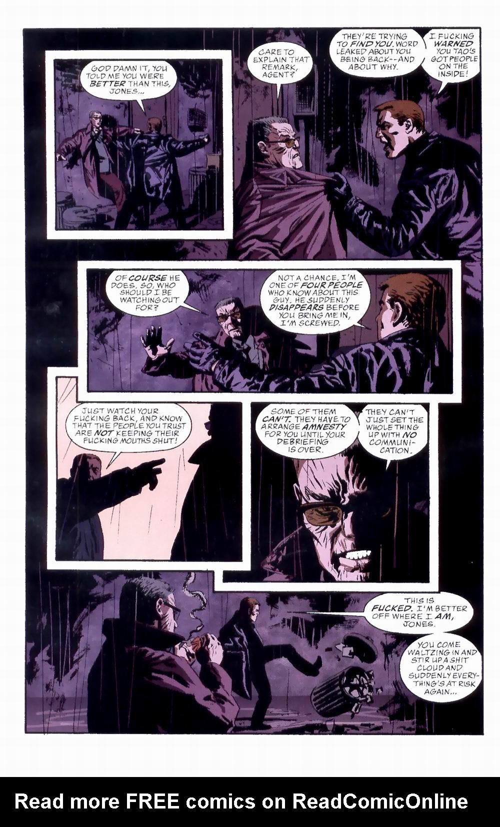 Read online Sleeper comic -  Issue #8 - 12