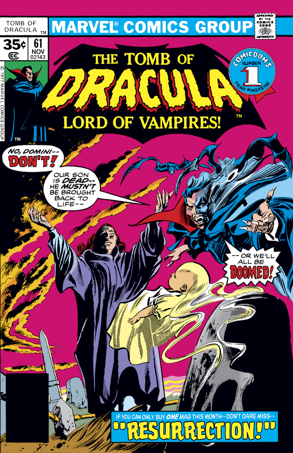Tomb of Dracula (1972) issue 61 - Page 1