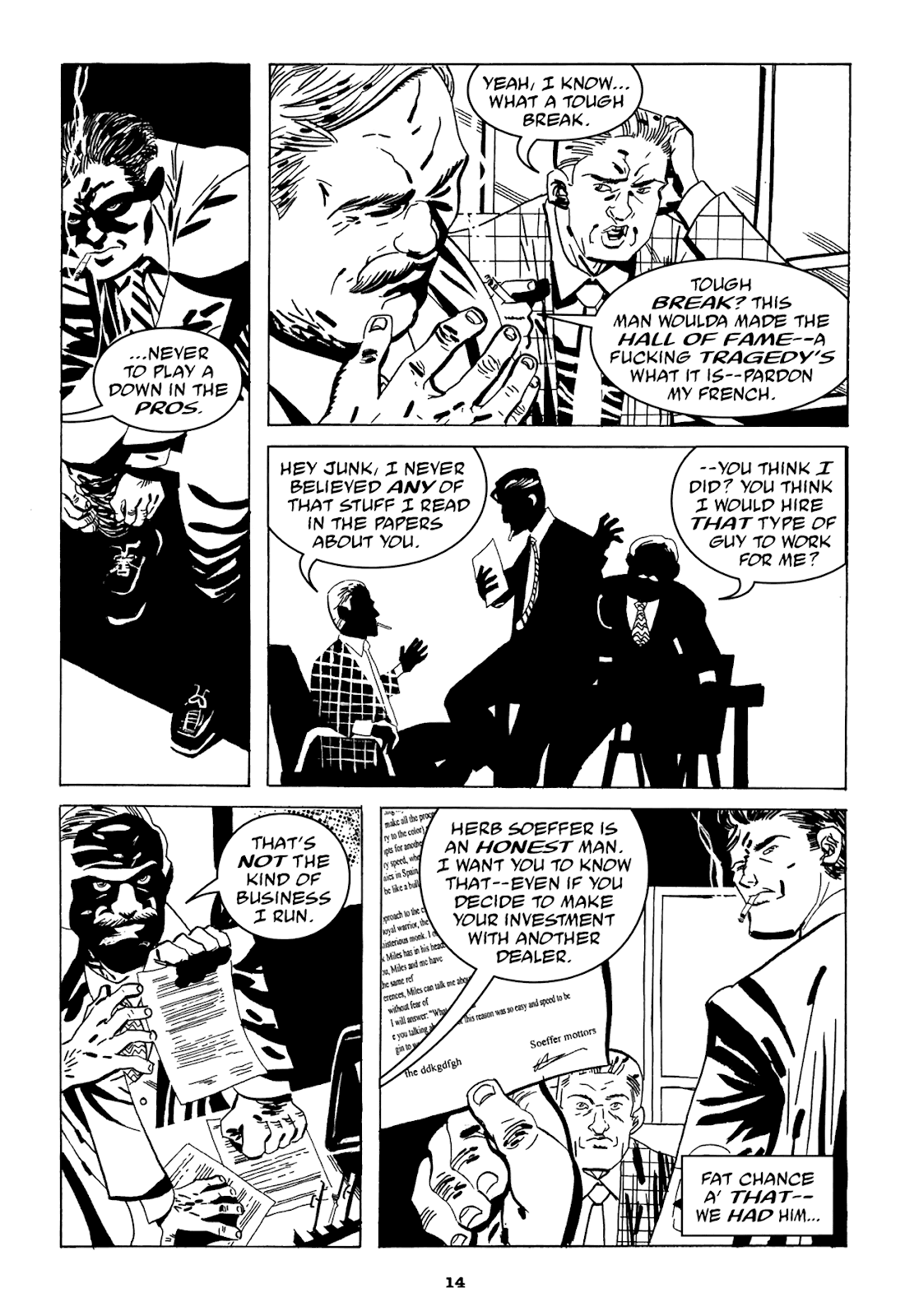 Read online Filthy Rich comic -  Issue # TPB (Part 1) - 16