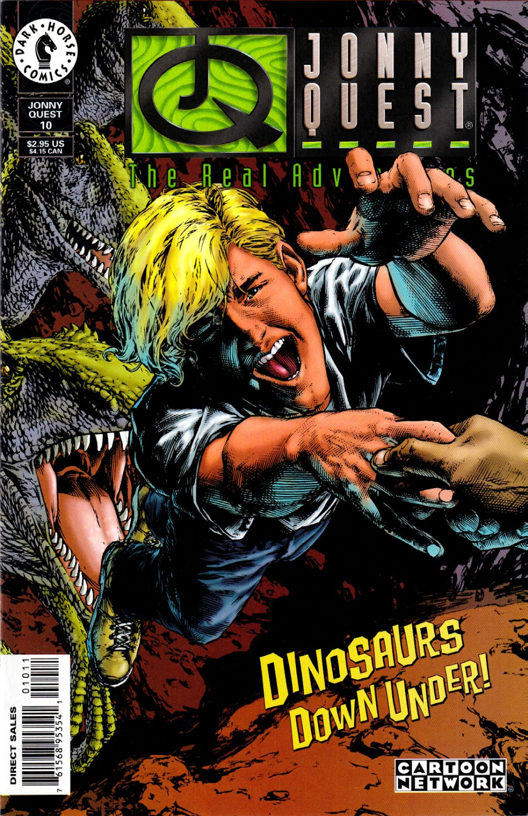 Read online The Real Adventures of Jonny Quest comic -  Issue #10 - 1