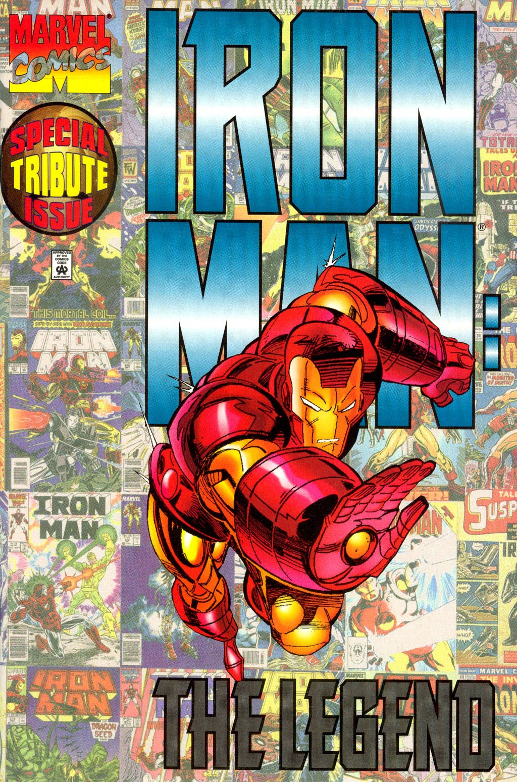 Read online Iron Man: The Legend comic -  Issue # Full - 1