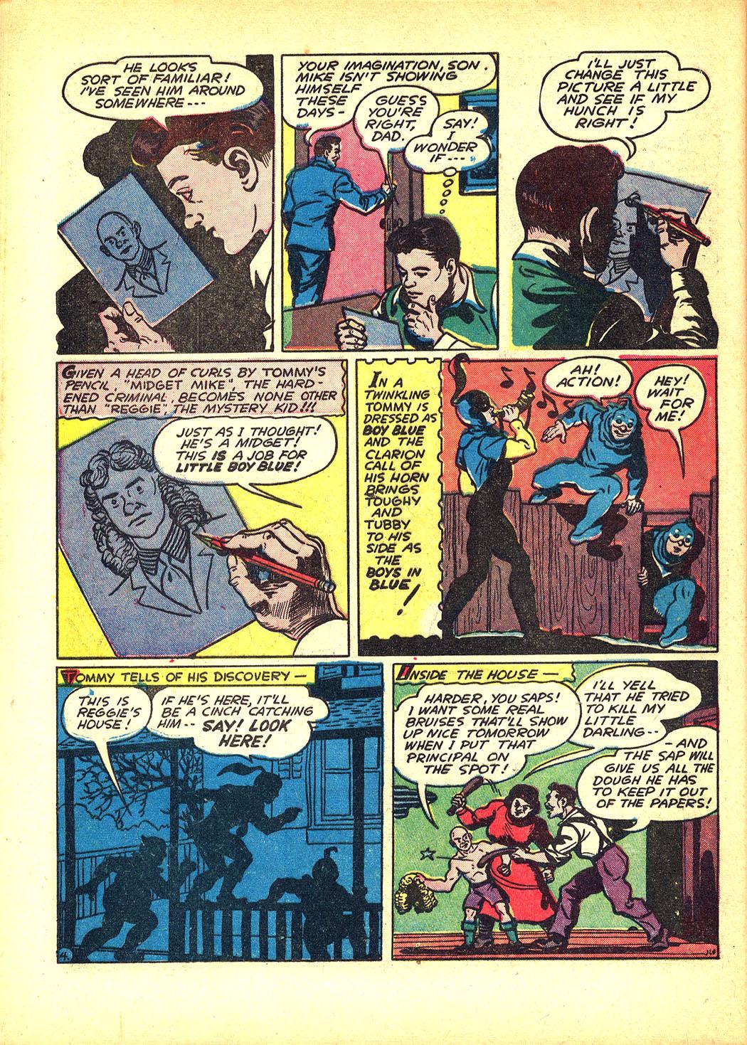 Read online Sensation (Mystery) Comics comic -  Issue #8 - 52