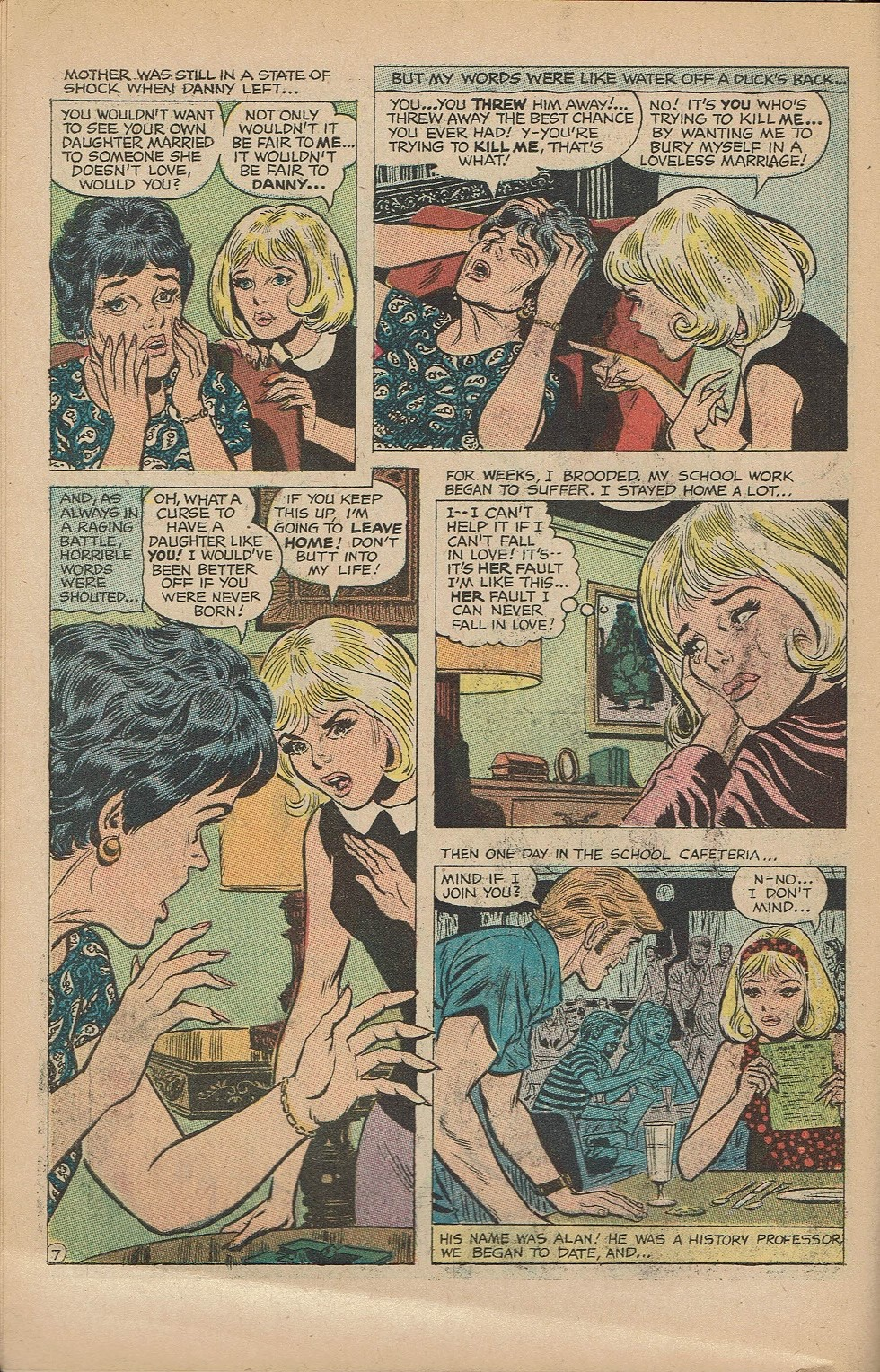 Read online Secret Hearts comic -  Issue #151 - 10
