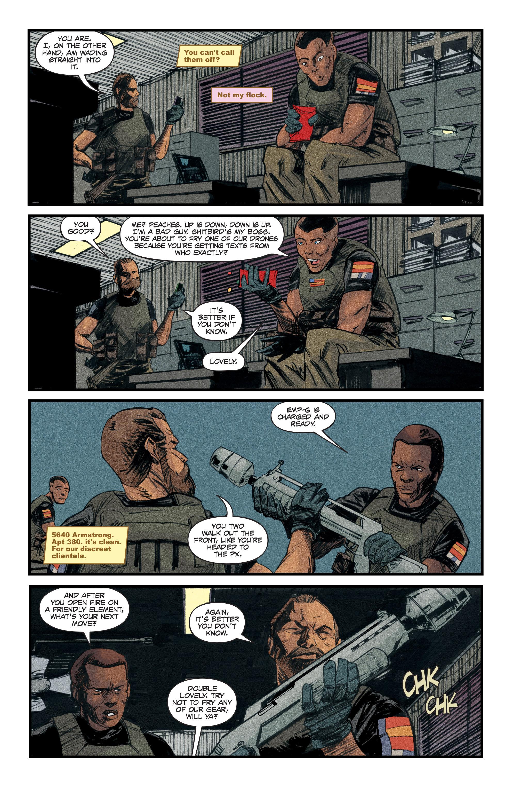 Read online Redline comic -  Issue #3 - 18