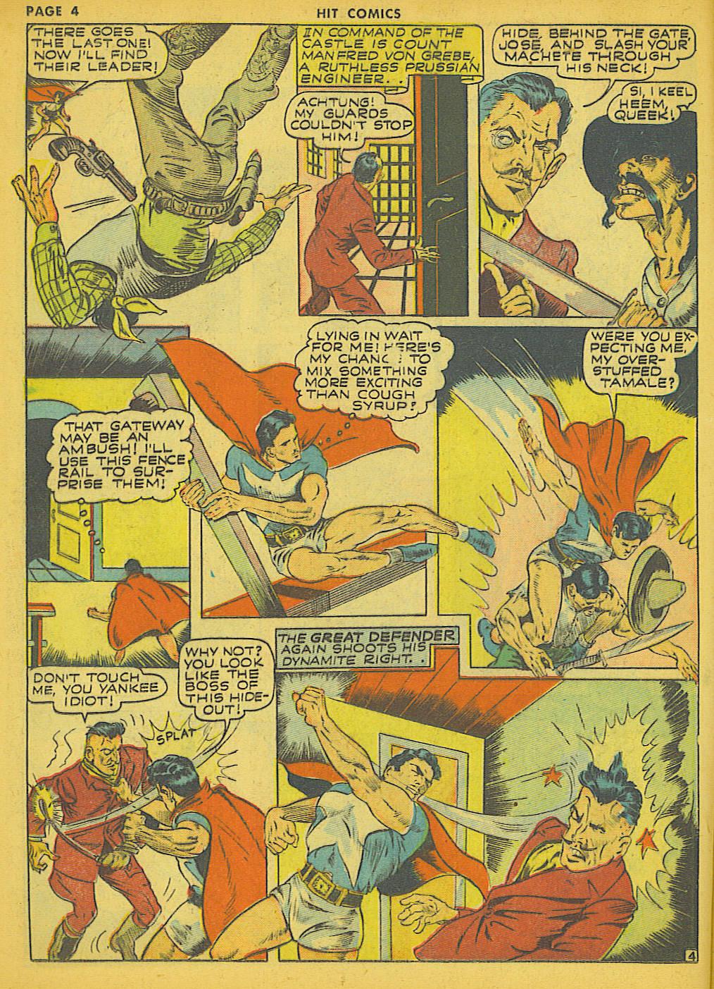 Read online Hit Comics comic -  Issue #21 - 6