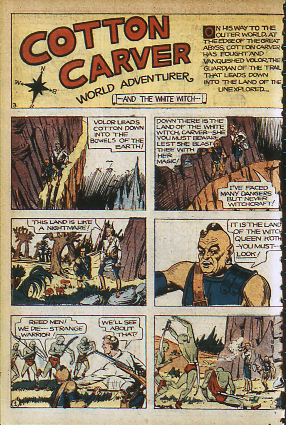 Read online Adventure Comics (1938) comic -  Issue #37 - 11