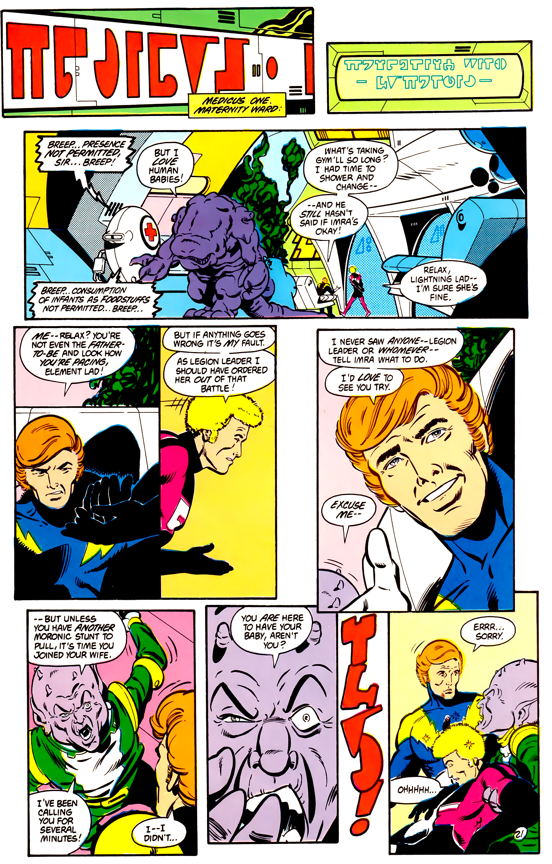 Legion of Super-Heroes (1984) 2 Page 22