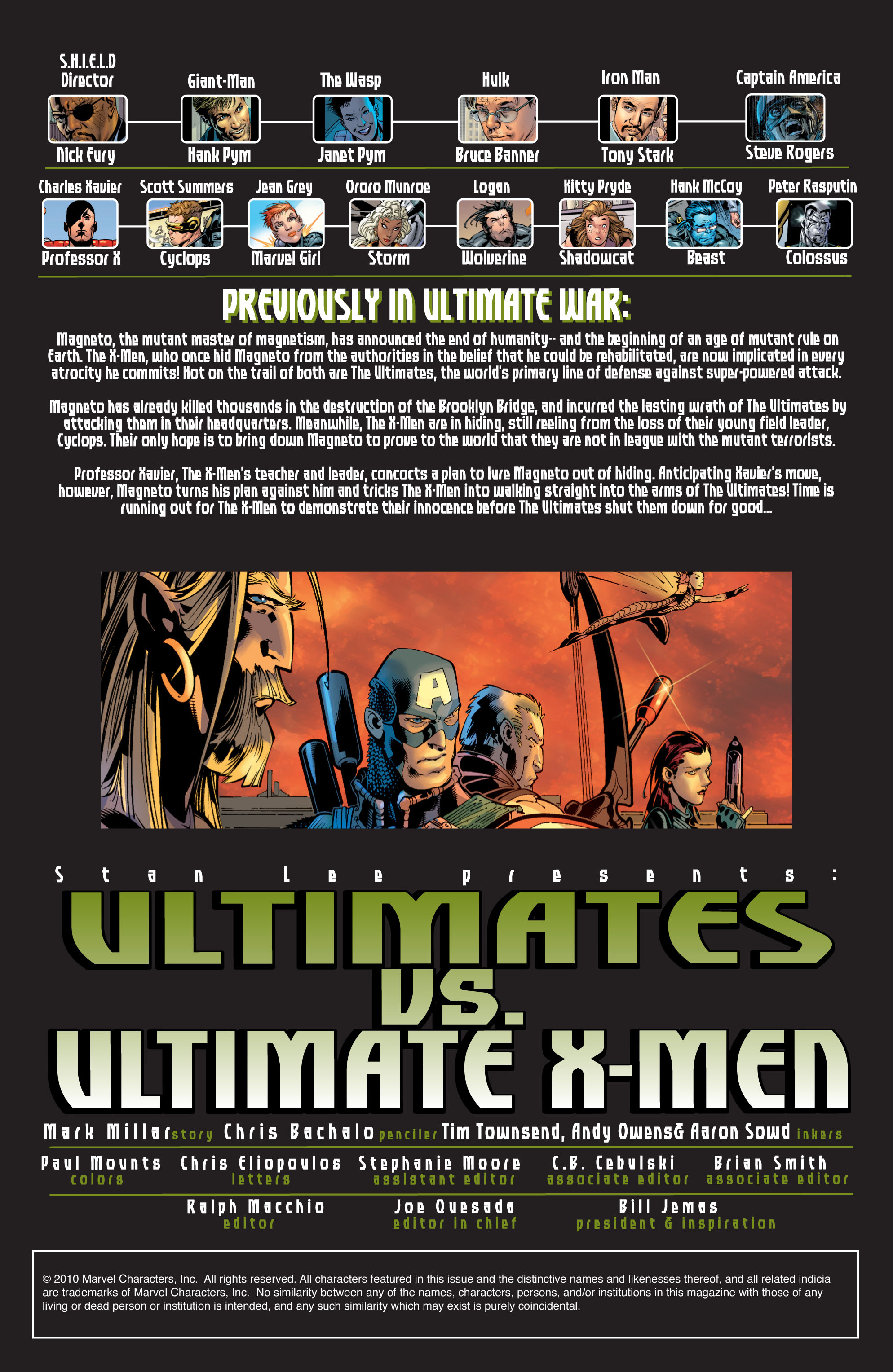 Read online Ultimate War comic -  Issue #4 - 3