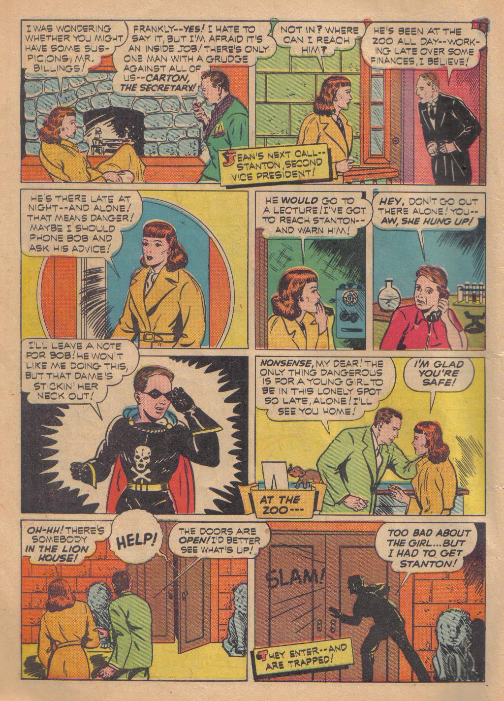 Exciting Comics (1940) issue 13 - Page 10
