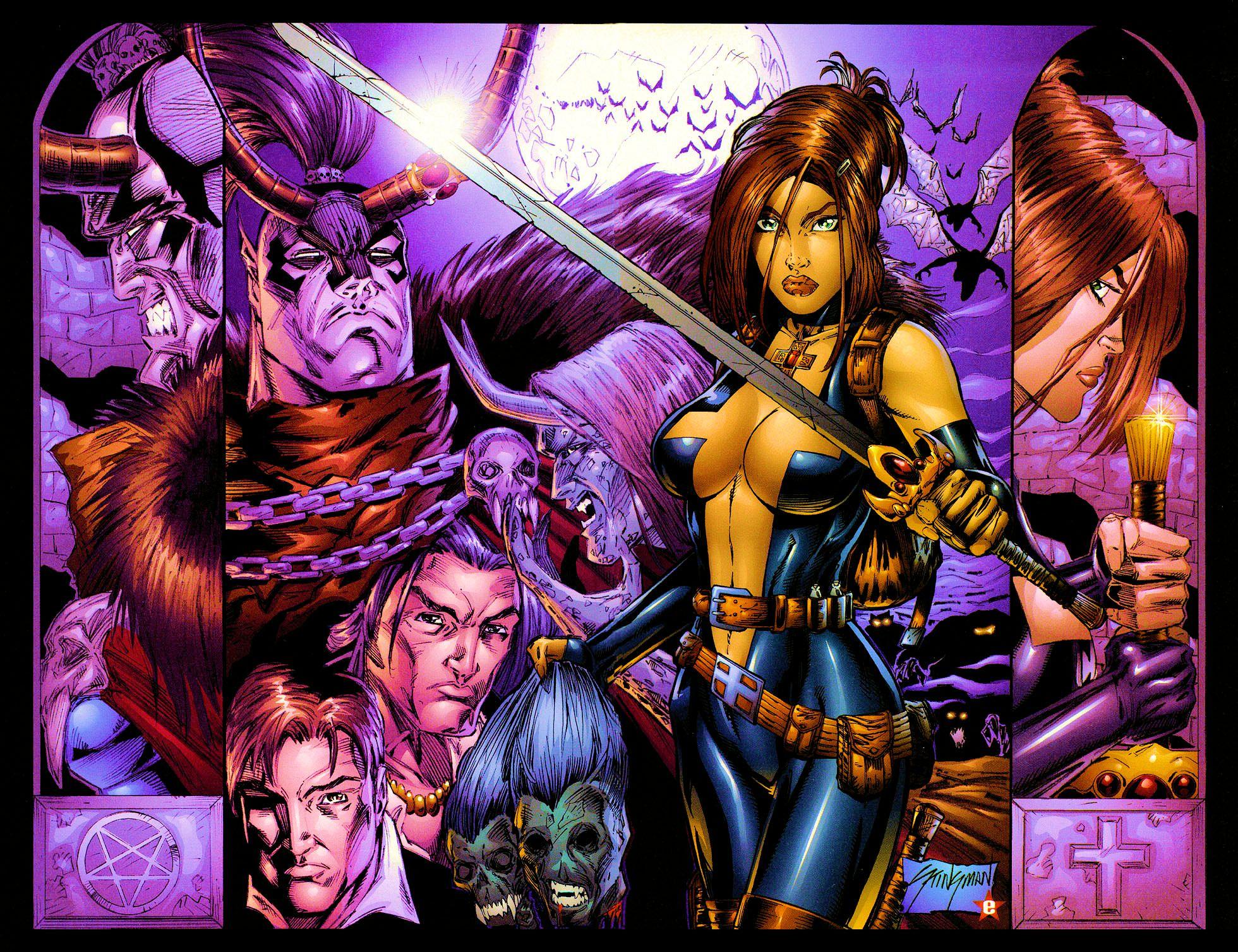 Read online Avengelyne (1999) comic -  Issue #Avengelyne (1999) Full - 25