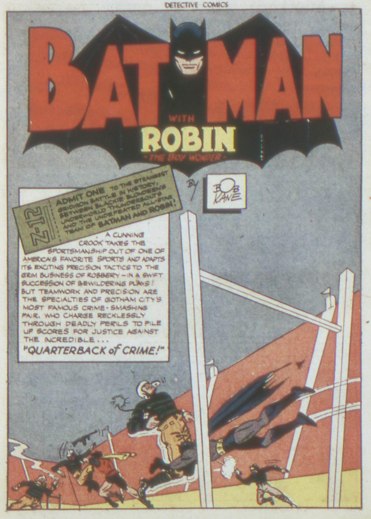 Detective Comics (1937) 82 Page 2