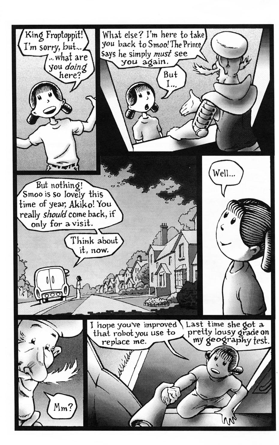Read online Akiko comic -  Issue #Akiko _TPB 1 - 7