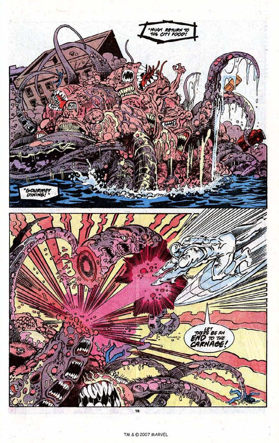 Read online Silver Surfer (1987) comic -  Issue # _Annual 3 - 21