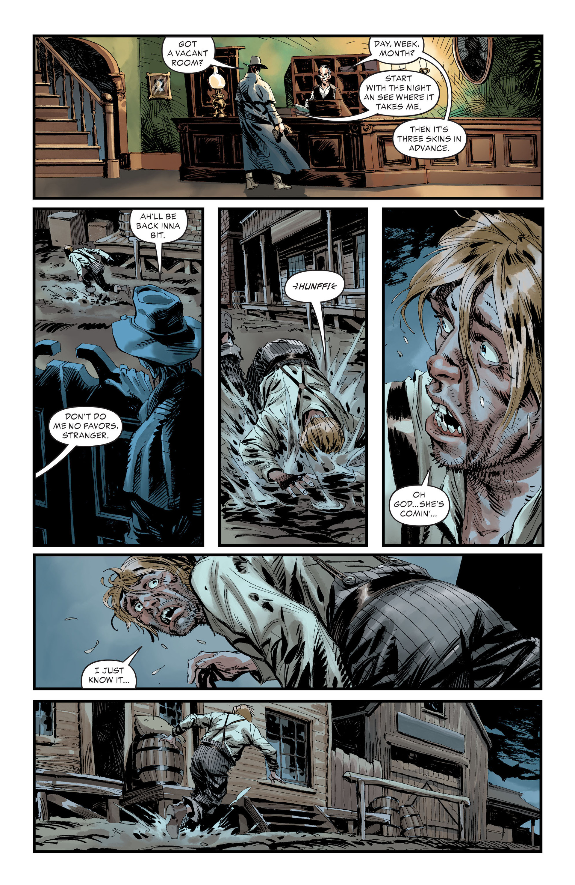 Read online All-Star Western (2011) comic -  Issue #30 - 5