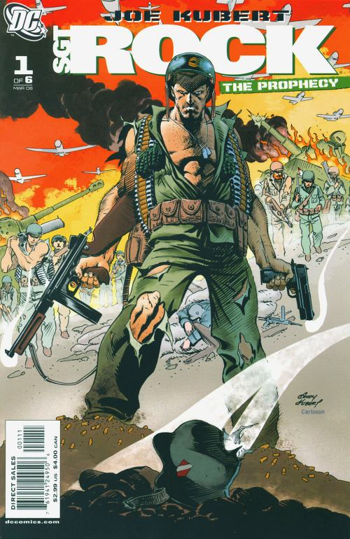 Read online Sgt. Rock: The Prophecy comic -  Issue #1 - 3