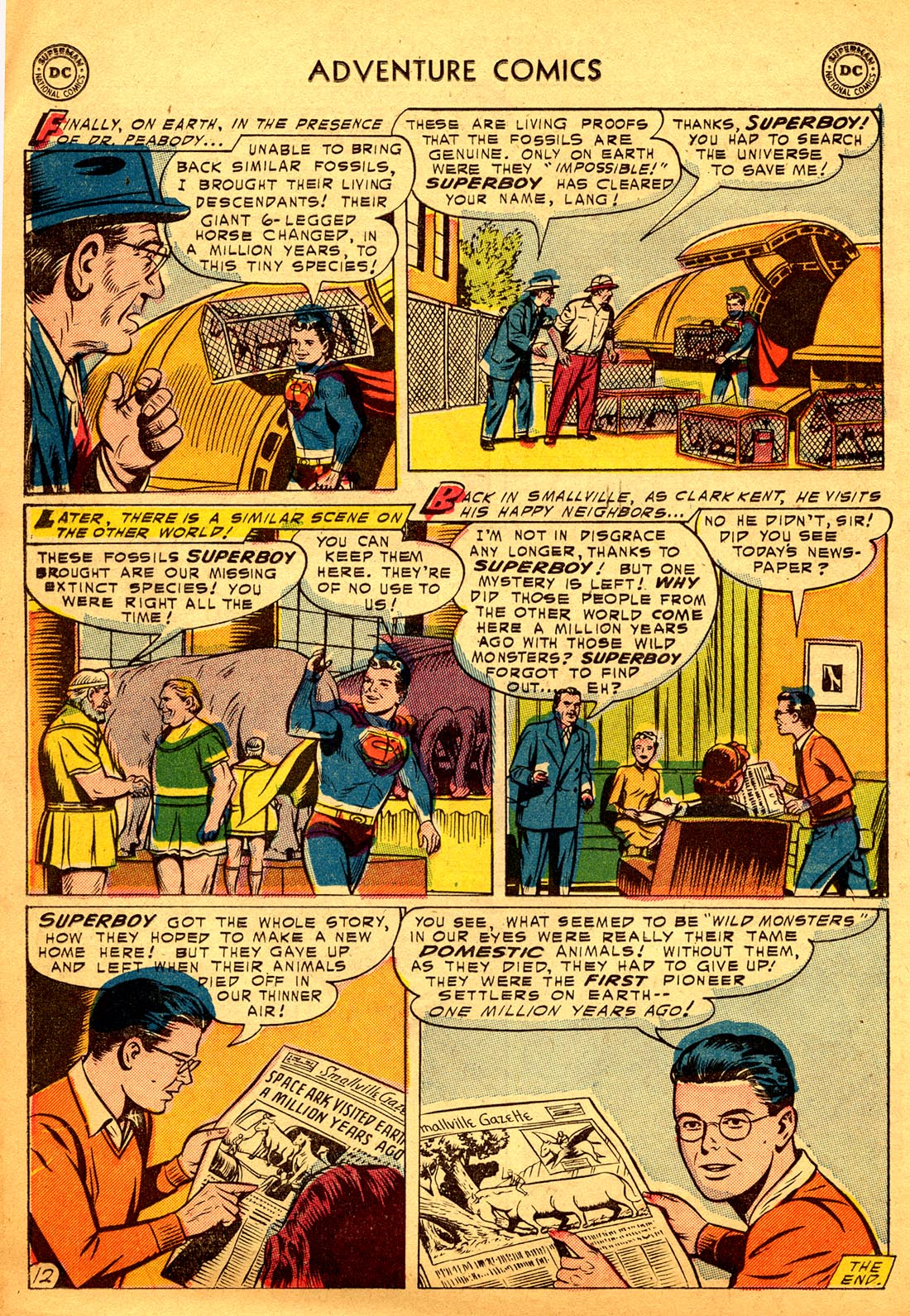 Read online Adventure Comics (1938) comic -  Issue #206 - 14