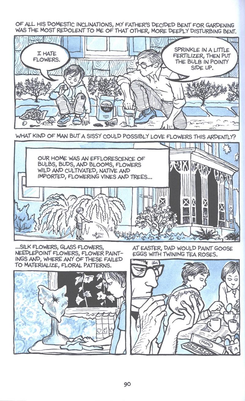 Read online Fun Home: A Family Tragicomic comic -  Issue # TPB - 97