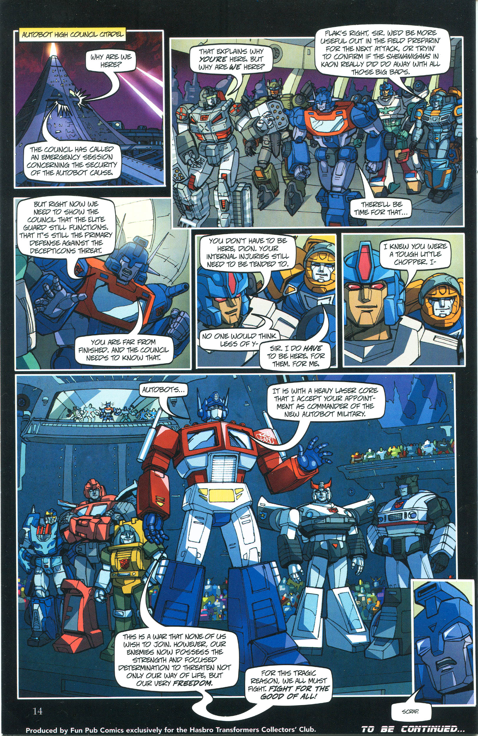 Read online Transformers: Collectors' Club comic -  Issue #37 - 14