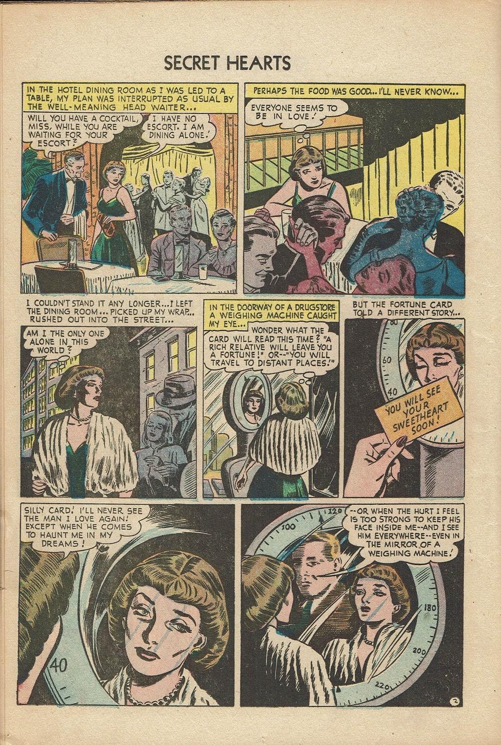 Read online Secret Hearts comic -  Issue #14 - 12