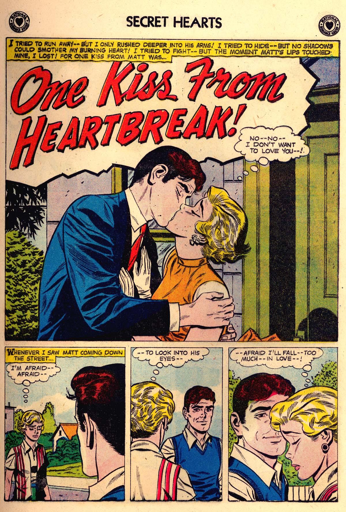 Read online Secret Hearts comic -  Issue #56 - 9