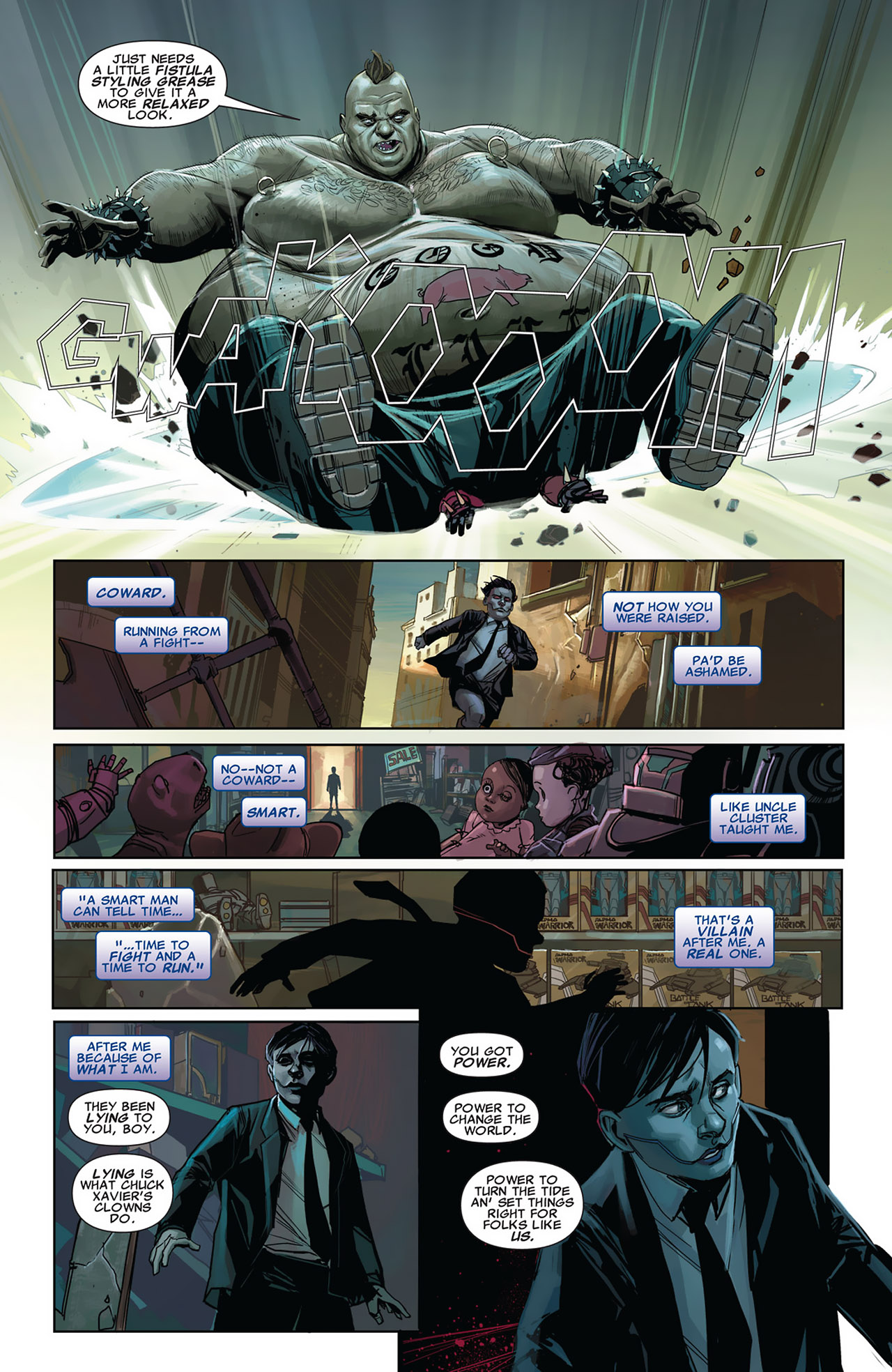 Read online Uncanny X-Force (2010) comic -  Issue #27 - 7