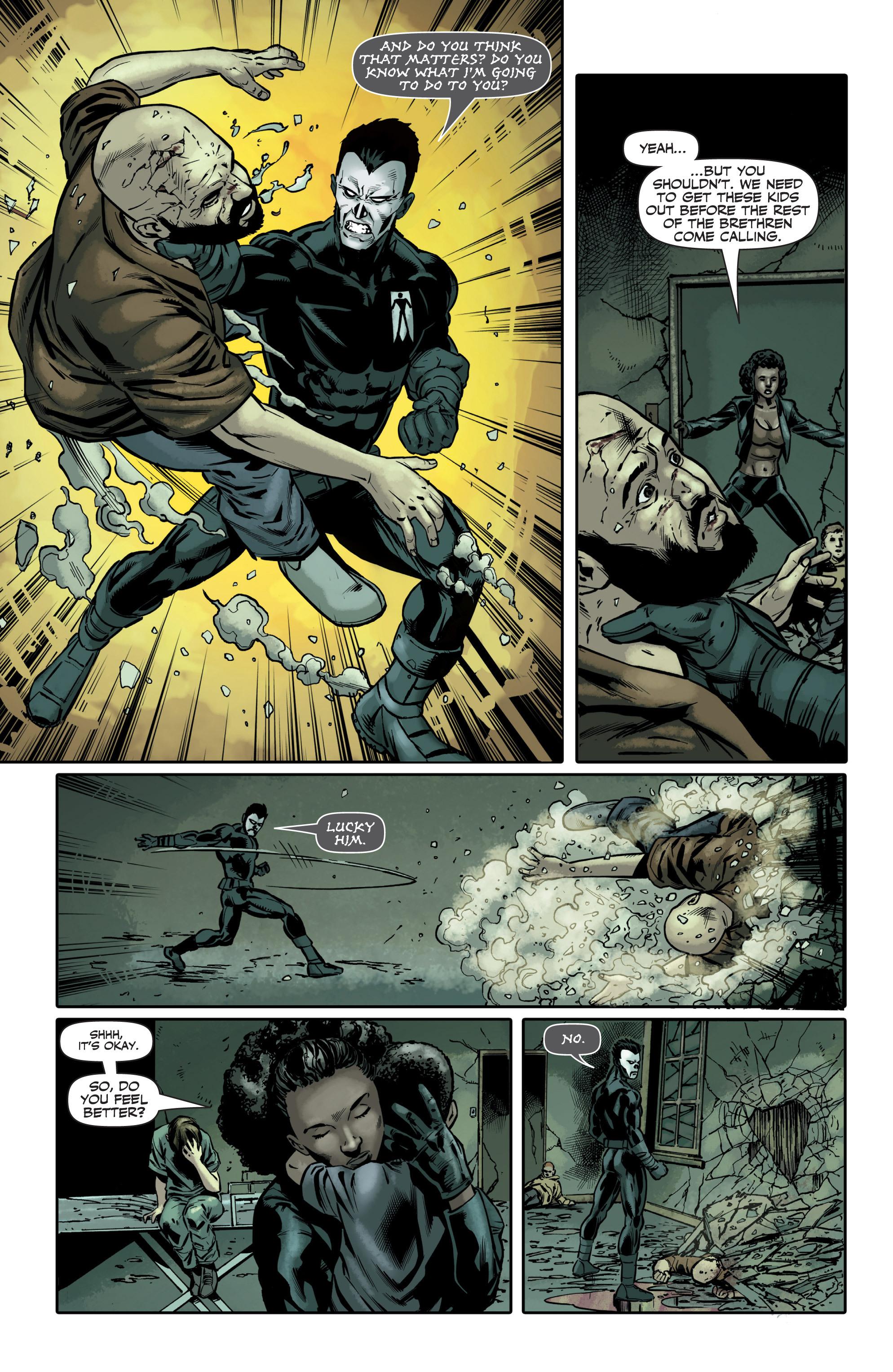 Read online Shadowman (2012) comic -  Issue #6 - 11
