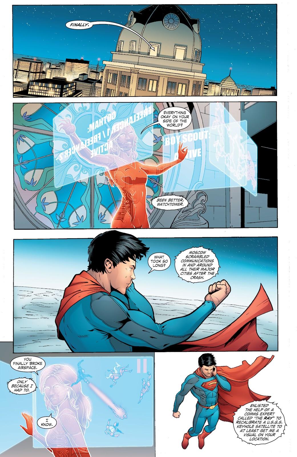 Read online Smallville Season 11 [II] comic -  Issue # TPB 6 - 115