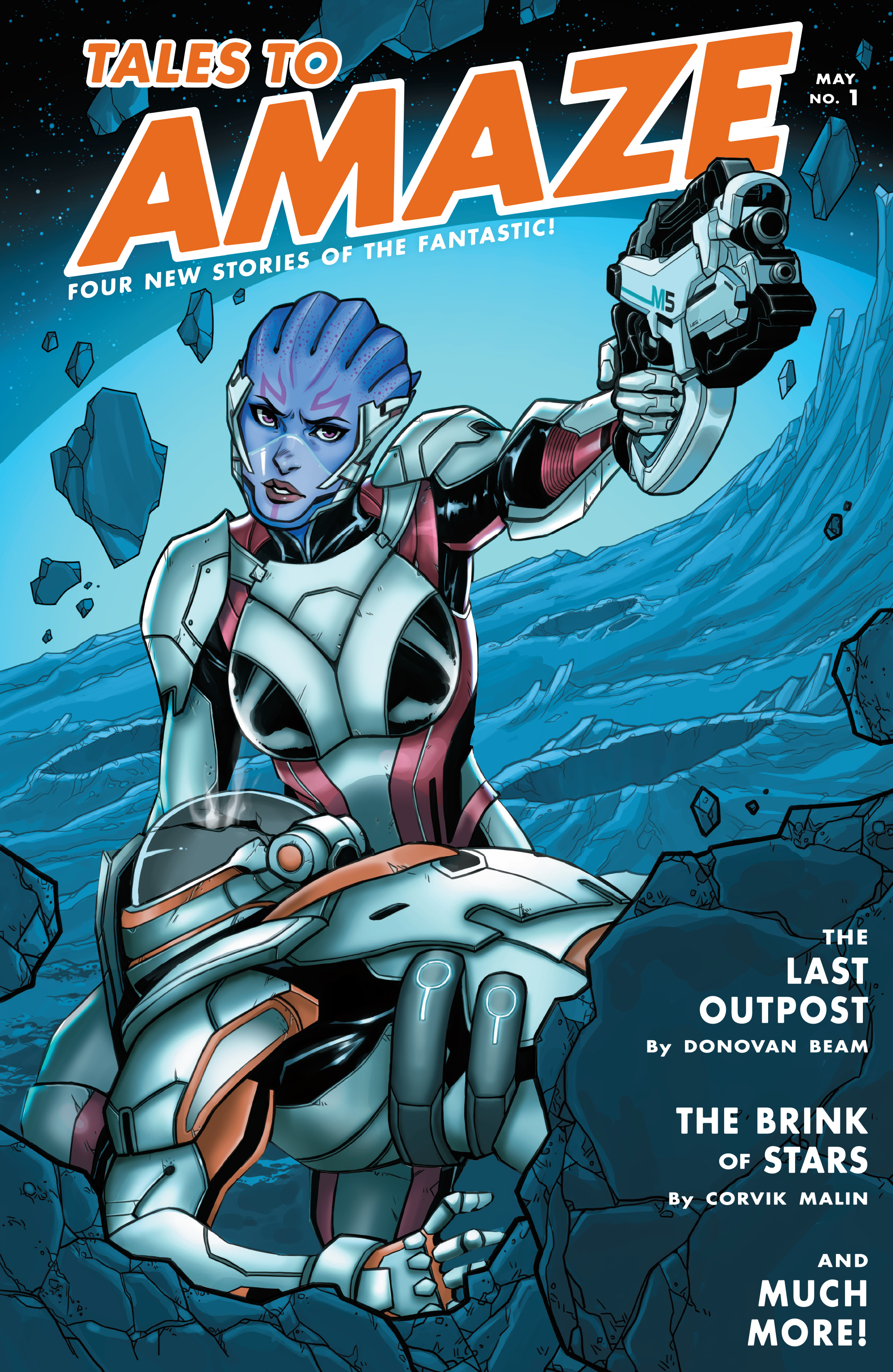 Read online Mass Effect: Discovery comic -  Issue #1 - 2