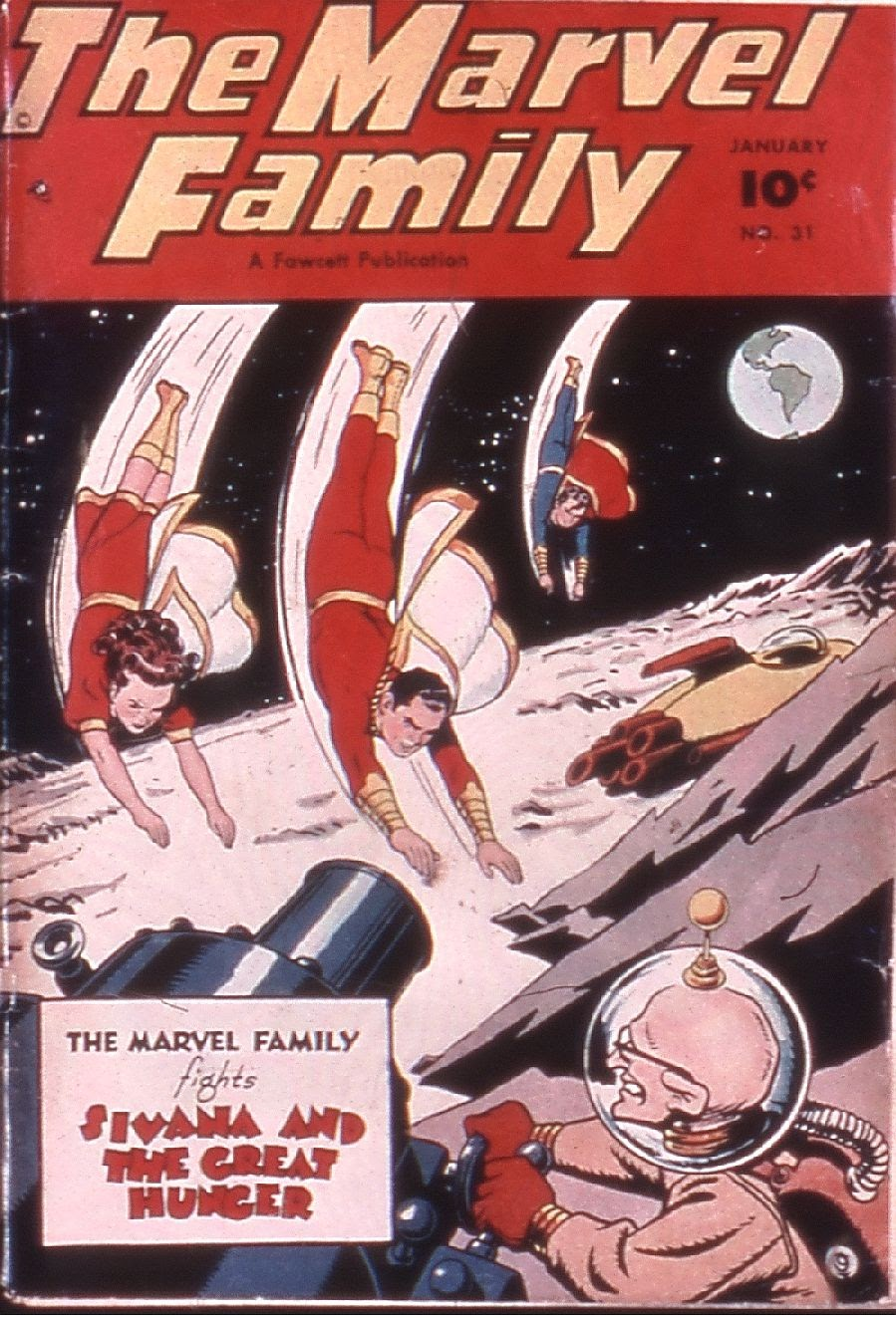The Marvel Family 31 Page 1